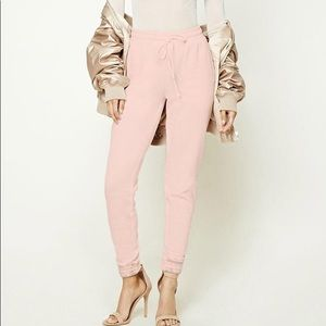 Forever 21 Fleece Lined Joggers